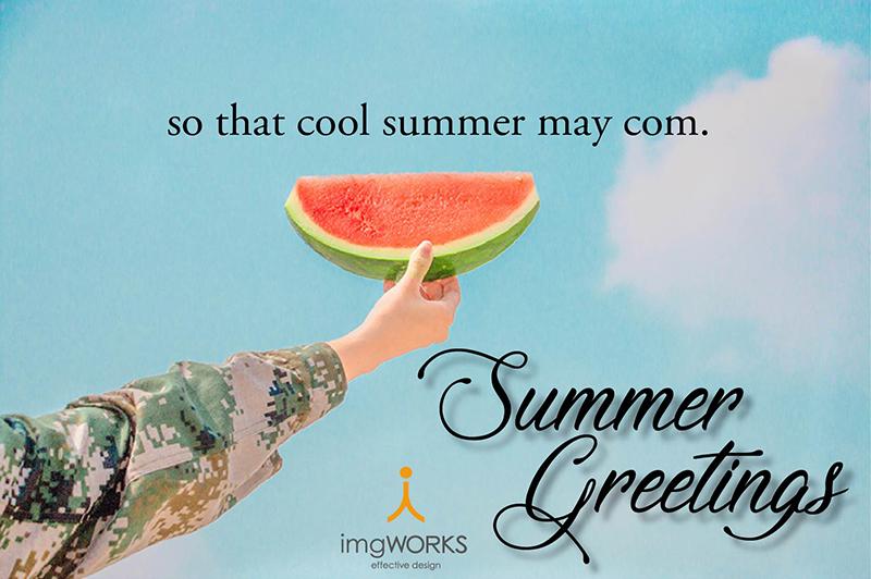 夏季休業のお知らせ
