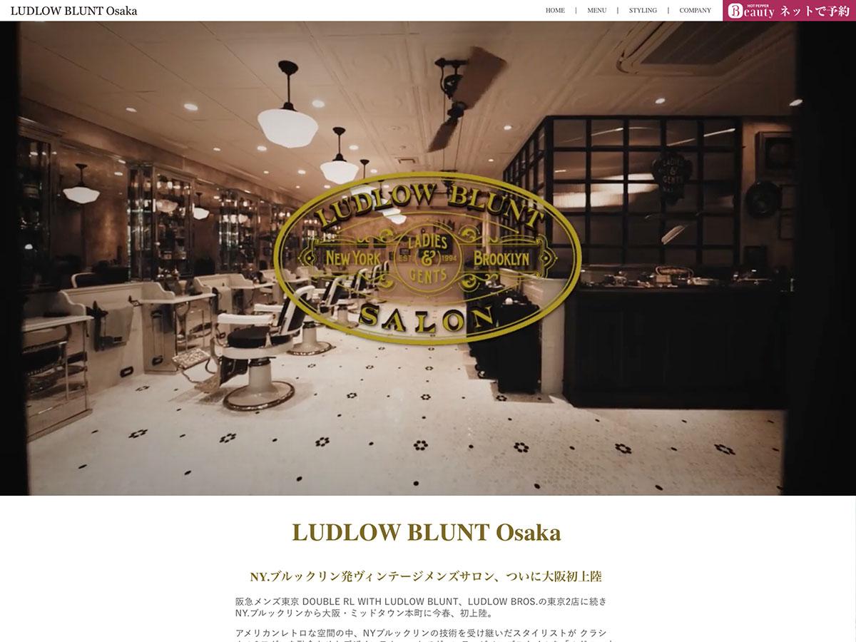 LUDLOW BLUNT Osaka